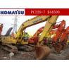 Buy cheap Used Crawler Excavators Komatsu PC220-7/Komatsu PC220-7 from wholesalers