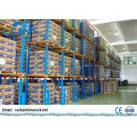 China Warehouse Storage Drive In Pallet Racking System , Industrial Flow Through Racking on sale