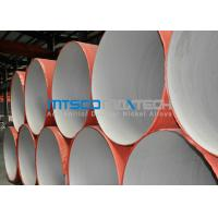 China ASTM A312 Welded Pipe Plain Ends , Stainless Steel Thin Wall Pipe With RT on sale