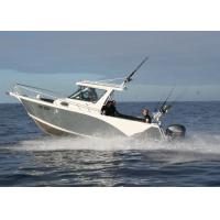 Quality Fishing V Bottom Boats Marine Aluminum Alloy Hull Material With 3 Years Warranty for sale