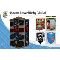 Custom Shoes Corrugated Cardboard Pallet Display For Quick Point Of Sale