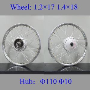 Impact Resistance Fat Spoke Motorcycle Wheels Motorcycle Wheel Parts