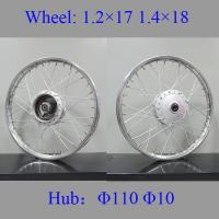Buy Impact Resistance Fat Spoke Motorcycle Wheels Motorcycle Wheel Parts at wholesale prices