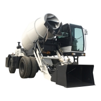 Buy cheap self loading concrete mixer truck H3600A (3.6 m³, articulated chassis) from wholesalers