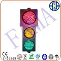 China 300mm Red and 200mm Yellow&Green Traffic Light With Fresnel Lens on sale