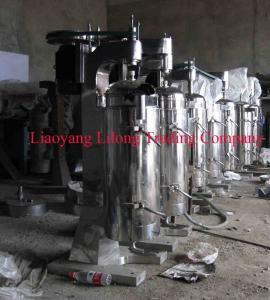 China Tubular Bowl Centrifuge Separator for Sugar and Honey on sale