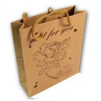 Best Brown Kraft Paper Shopping Bags wholesale