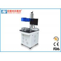 China 20W / 30W 3D Laser Marking Machine 1064nm With Rotating System on sale