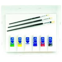 China Complete Toddler Watercolor Art Set , Personalized Artist Box Set 11pcs on sale