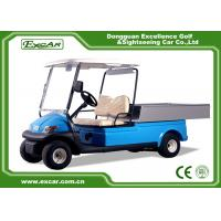 Quality 2 Seater Hotel Buggy Car , Electric Utility Golf Carts 100% Waterproof Accelerator for sale
