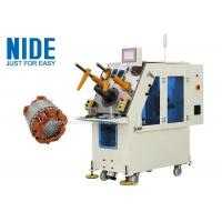 China Generator motor automatic stator coil inserting machine Single working station for sale