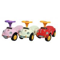 Quality Good quality 3 colors cute plastic baby ride on toy car for sale