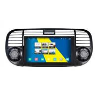 Quality Auto Radio Stereo Fiat DVD Player , Fiat 500 In Dash Navigation 1080P HD Video Play for sale