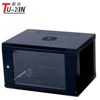 Quality Cold Rolled Steel 19 Inch Home Network Rack 6U Wall Mount Server Cabinet for sale