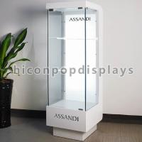 Best Floor Standing Cosmetic Display Stand Display Case With Led Lighting wholesale