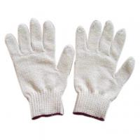 Quality 7g Colored Magic Cotton Glove Knitted For Winter Work for sale