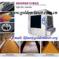 Cheap Large Format 3D Laser Engraving Carpet Machinery for sale