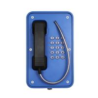 Quality Anti Vandal SOS Industrial VoIP Phone Waterproof With Rugged Aluminum Enclosure for sale