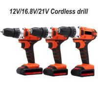China 2200mAh Electric Power Drill , Battery Operated Drill Machine With 2 Battery Pack on sale