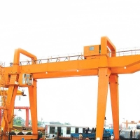 Quality Outdoor Double Girder 50ton 60ton A Frame Gantry Crane for sale
