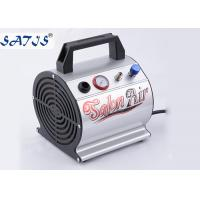 Quality Small Mini Air Compressor For Airbrushing Auto Start / Stop Fuction For 0.2-0.5mm Nozzle for sale