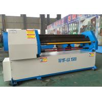 Quality High Speed Rolling Pipe Bending Machine , 3 Roll Plate Bending Machine W11-8x3200mm for sale