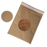 Quality All Paper Biodegradable Custom Printed Envelopes Easy Recycle Mailing Bag Durable for sale