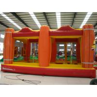 Best Interesting 0.45+0.55MM PVC Tarpaulin Inflatable Toy Inflatable Bouncer Castle wholesale
