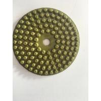 China Green Diamond Buffing Pads / Diamond Sanding Block Hand Pads 200mm on sale