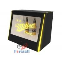 Best Interactive Transparent Touch Screen Monitor Lcd Window Display Box MP3 Audio Format wholesale