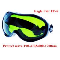China 1064nm YAG fiber laser protect glasses / CO2 laser safety goggles on sale