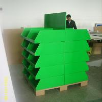 Best 20 trays Corrugated Retail Cardboard Pallet Display UV Coating for Exhibitor wholesale