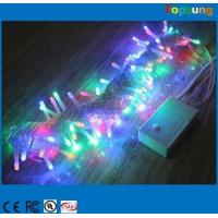 Best Hot  sale 110v 120v 100led RGB twinkle Christmas string lights 10m flashing with controller wholesale