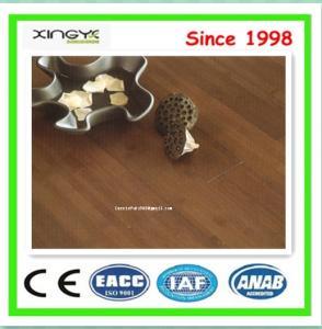 China Dark brown flooring bamboo wood flooring wholesales bambu floorings on sale