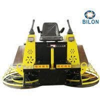 Quality Hydraulic Power Concrete Trowel Machine With Leather Comfortable Seat for sale
