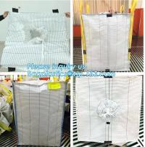 China PP woven big bag/bulk bag/jumbo bag 1000kg,china factory woven polypropylene sand use pp woven big bag 1000kg, BAGEASE on sale