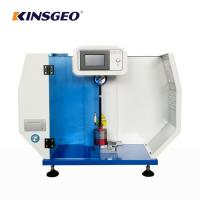 Buy cheap 135kg Charpy Lazod Imapct Rubber Testing Machine with One Year Warranty from wholesalers