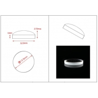China IR Fused Silica Plano-convex Lenses for sale