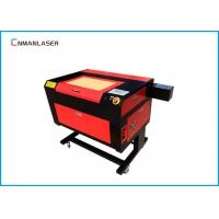 Quality 220v 50HZ Fast Speed 6090 Cnc Laser Engraving Cutting Machine For Sticker Labels for sale