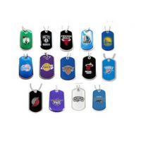 Quality Offset Printed Personalized Metal Dog Tags With Team Logos Or Custom Graphics for sale
