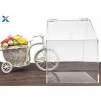 Quality House Shape Big Clear Acrylic Candy Box Used In Retail Store for sale