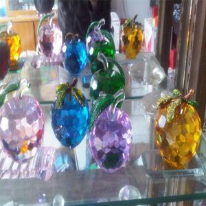 China Crystal Apple on sale
