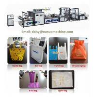 China automatic non-woven bag making machinery on sale