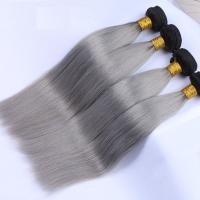 China 7A Ombre Virgin Hair Bundles No Shedding Ombre Hair Extensions Human Hair on sale