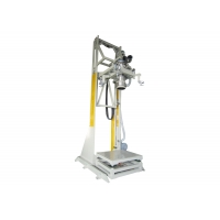 China DCS-1000+DS Electric Lifting Type Ton Bag Weighing Filling Packing Machine for sale