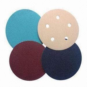 Velcro Discs, Made of Aluminum Oxide/Silicone Carbide/Zirconia/WA