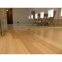 China real High Gloss Horizontal or Vertical Solid Bamboo wood Flooring on sale
