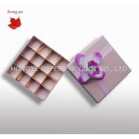 Best Cardboard Packaging Boxes For Chocolate Decorative , Pink Gift Boxes wholesale