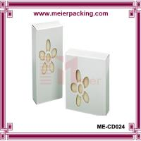Recycle white coated paper box for handmade soap/die out soap box ME-CD024