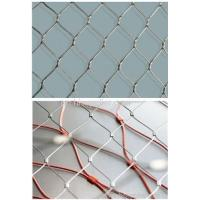 Best High Strength Stainless Steel X-Tend Ferrule Rope Zoo Mesh For Tiger wholesale